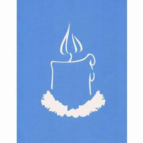 Candle-Stencil