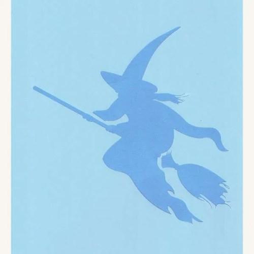 Witch Stencil