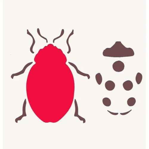 Lady Bug Stencil