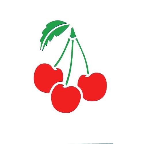 Cherries Stencil