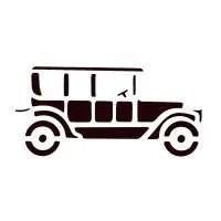 Classic Car Stencil