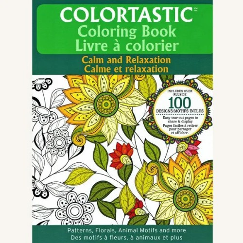 Colouring Book - Calm and Relaxation