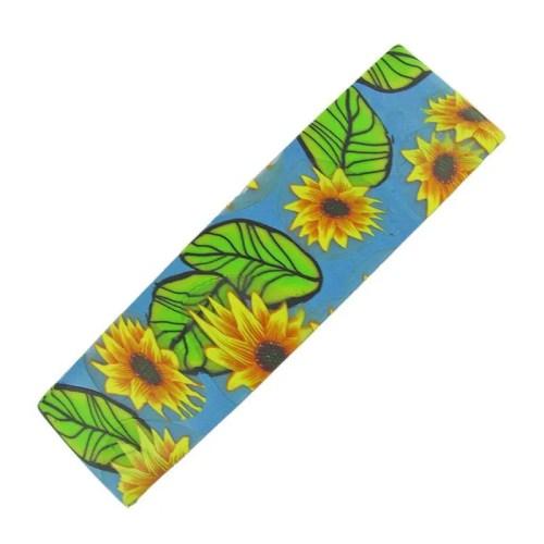 Sunflower Hair Barrette
