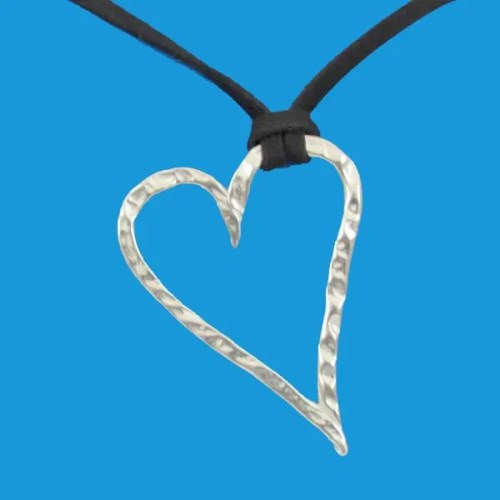 Pewter Heart Pendant