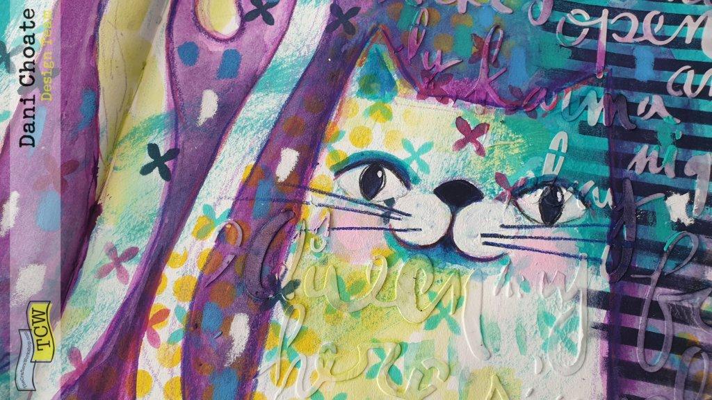 Close up of cat 2
