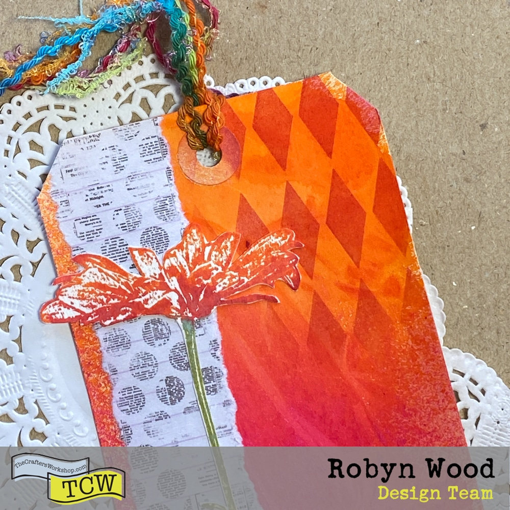 The Crafter's Workshop Blog – Big Hugs – tag art created by Robyn Wood