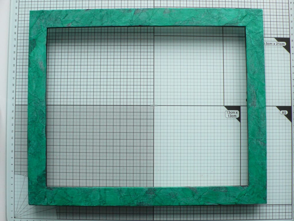 Step by step tutorial on how to alter a frame