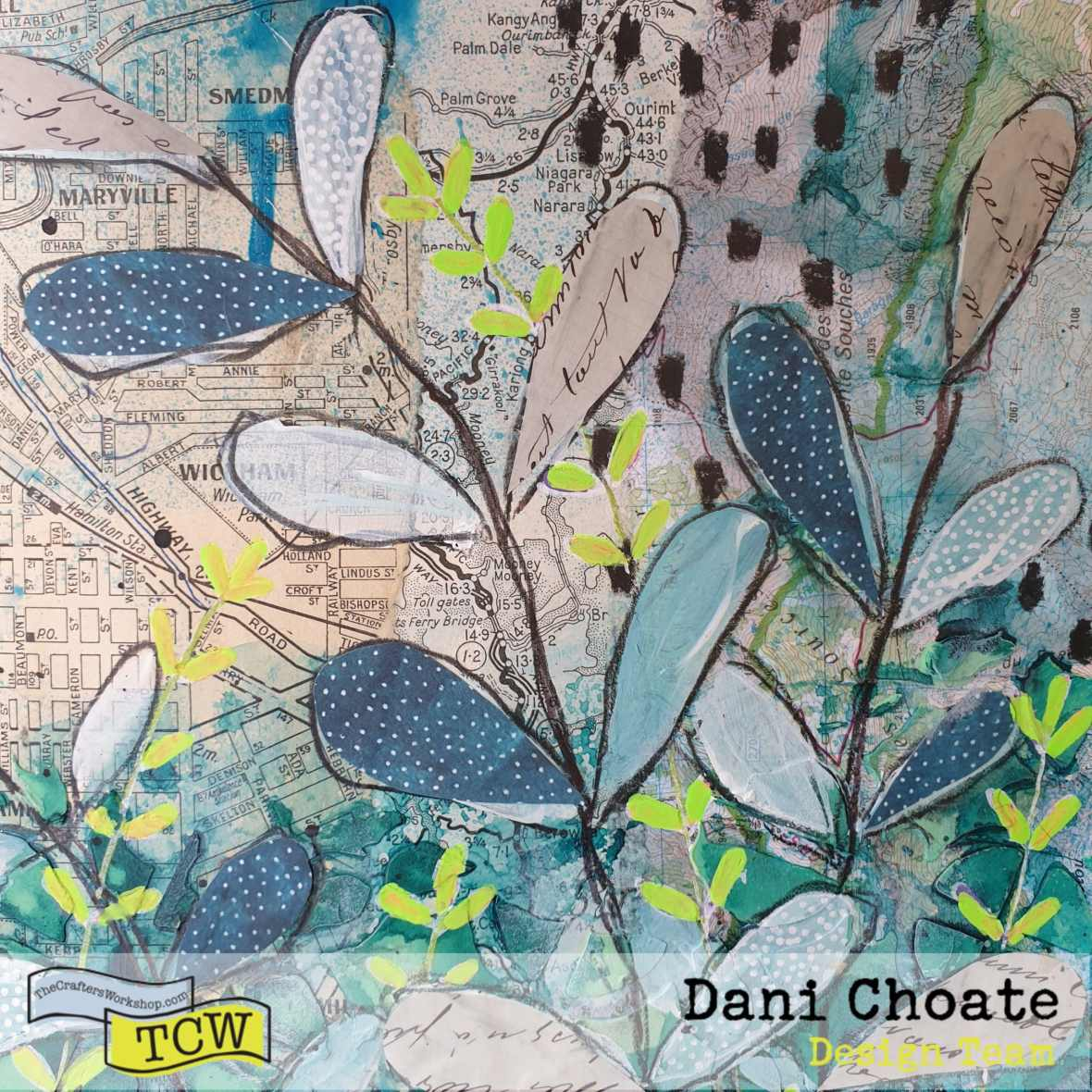 Dani-Choate-TCW855-leaf-art-journal-page-green