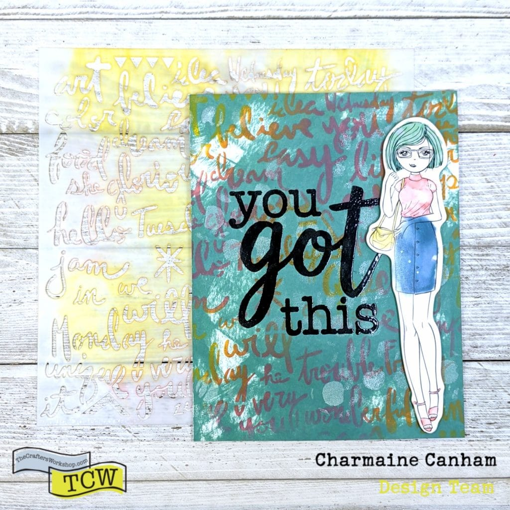 Card by Charmaine Canham for The Crafter's Workshop