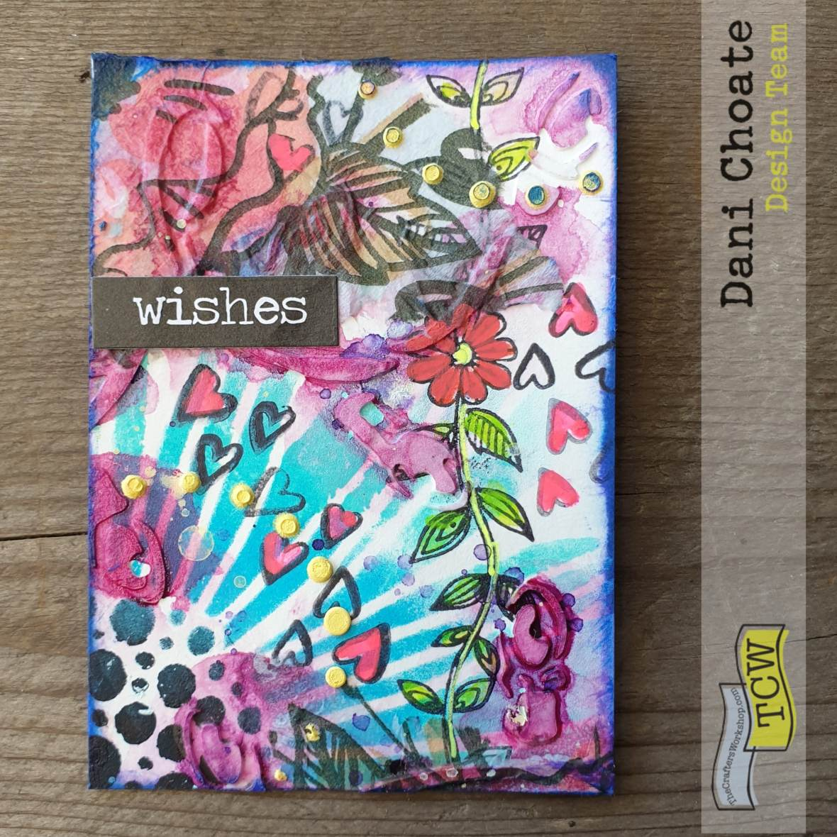 Artist Trading Card - WISHES