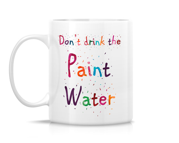 Paint water