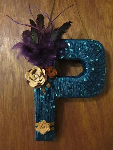 cardboard_letter_P_wreath24