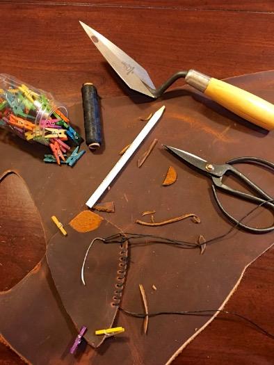 archaeology trowel holster: trowel_holster_1