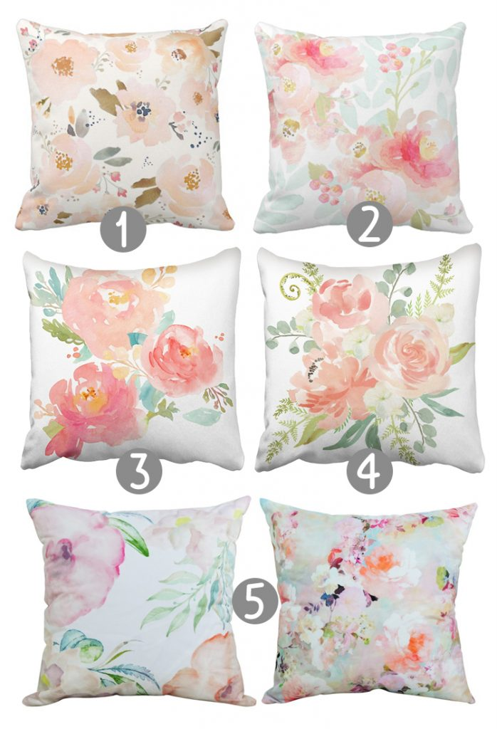 27 gorgeous floral throw pillow covers