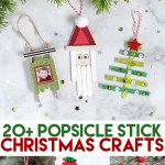 Popsicle Stick Christmas Crafts The Craft Patch