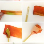 How To Make A Rose From Paper Towel The Craft Train