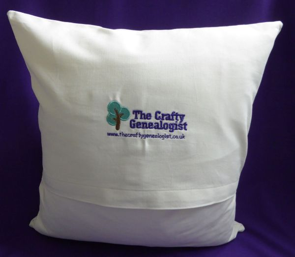 Reverse of cushion cover