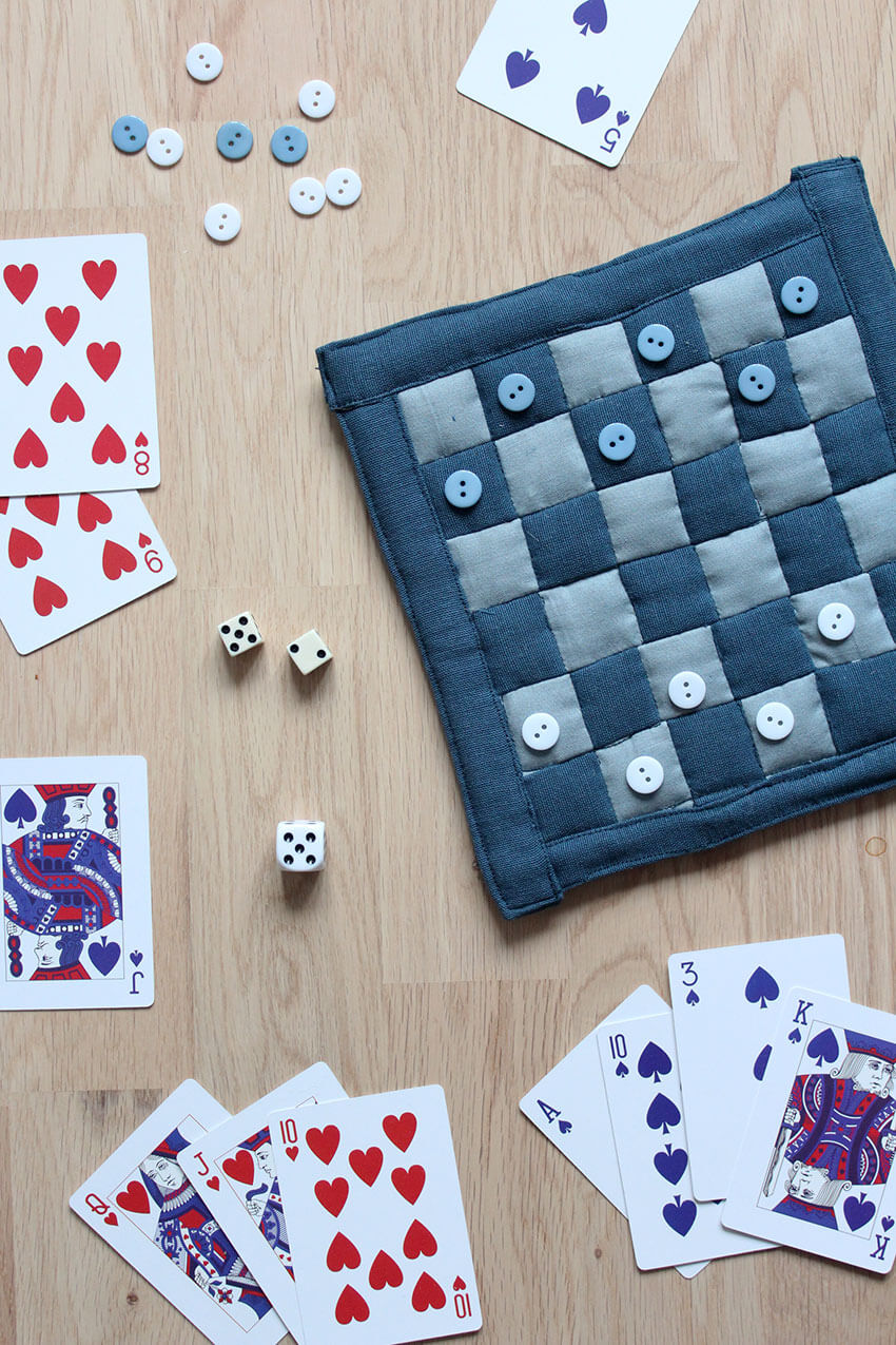 Tutorial: Patchwork fabric game board