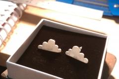 The cloud earrings!