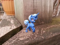 This one is Trixie the Tiny and Powerful - I'm especially proud of her paint job.
