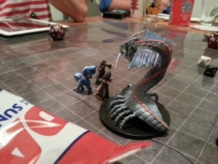 And some minis in action at our last game night!