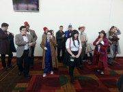 And here starts the massively massive Doctor Who photoshoot.