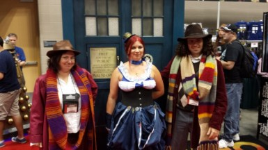 Two Doctors and two TARDISES!