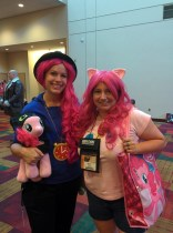 Rappin' Pinkie, Toothless Pie, and oh gods why do I look so exhausted