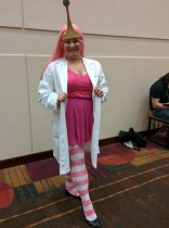 Princess Bubblegum, about to do SCIENCE