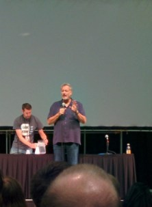 John deLancie, talking about a new Star Trek mobile game he's working on.