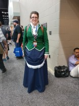 A victorian Luigi from Luigi's Mansion!