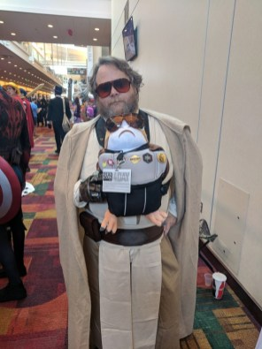 I love this Luke with his porg.