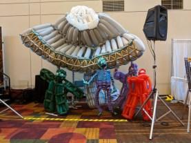 The 2018 balloon sculpture!