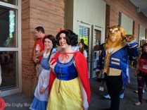 Some Disney Princesses and a cosplay friend of mine, Mark, as the Beast!