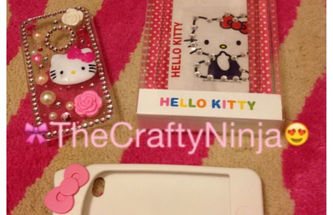 Hello Kitty iPhone 4s cases