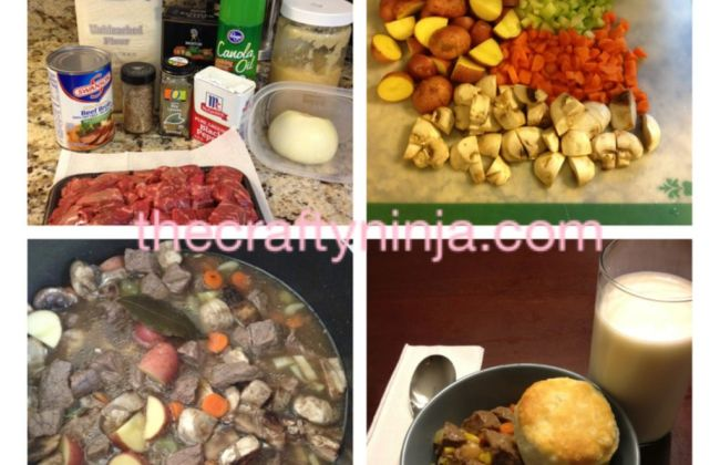 Slow Cook Beef Broth Stew Recipe