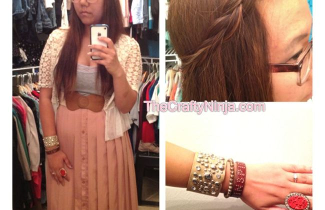 fahsion braid arm candy