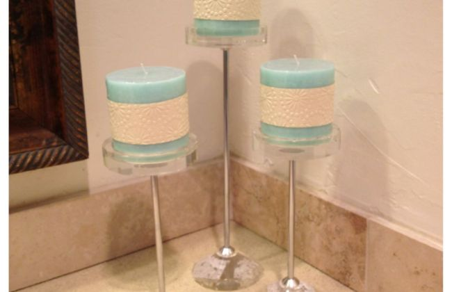 mint green candle