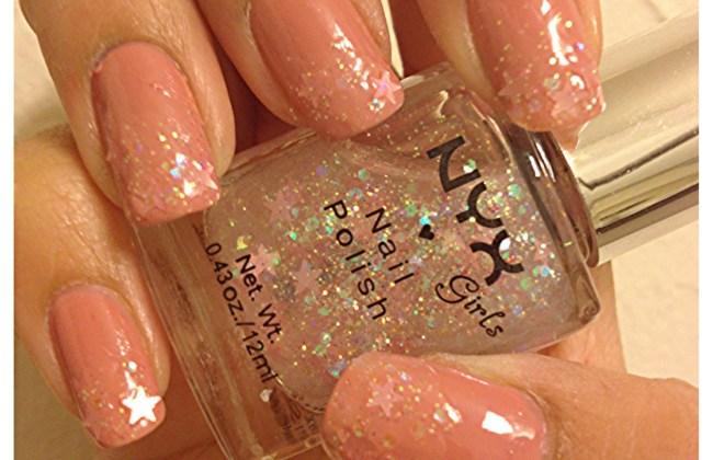 pink star nail polish
