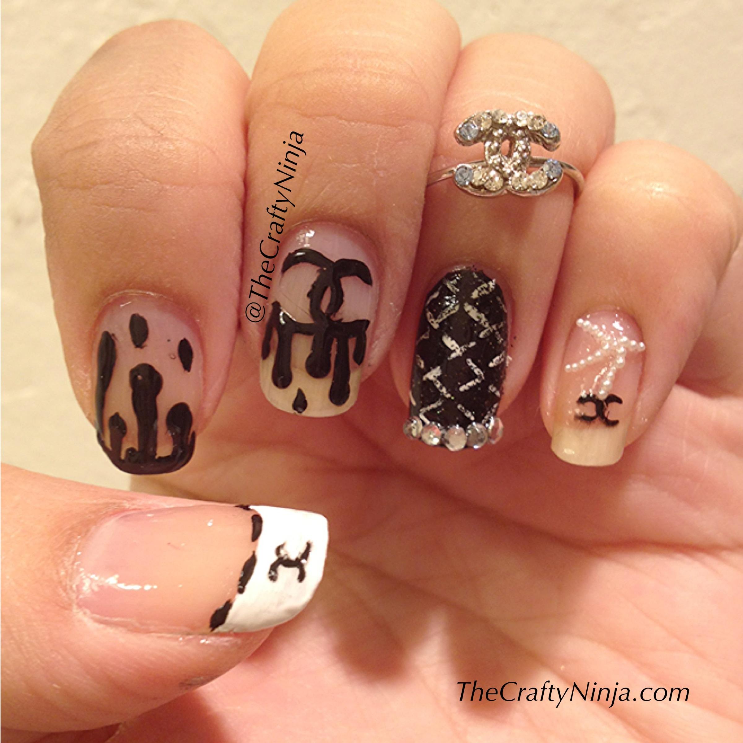 Chanel Nails The Crafty Ninja