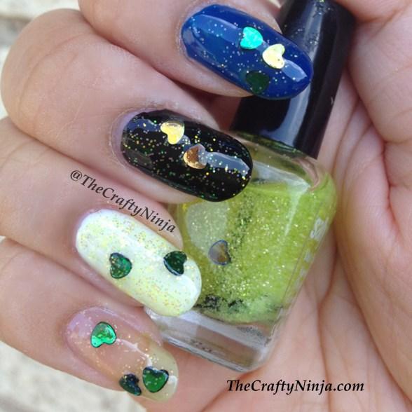 franken nail polish
