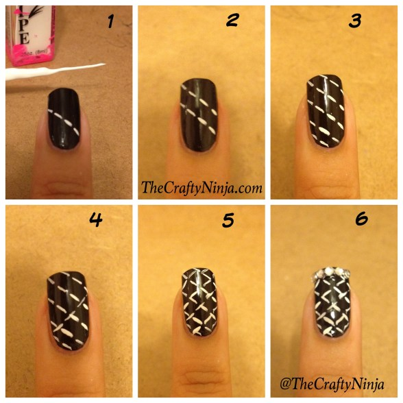 quilted nail