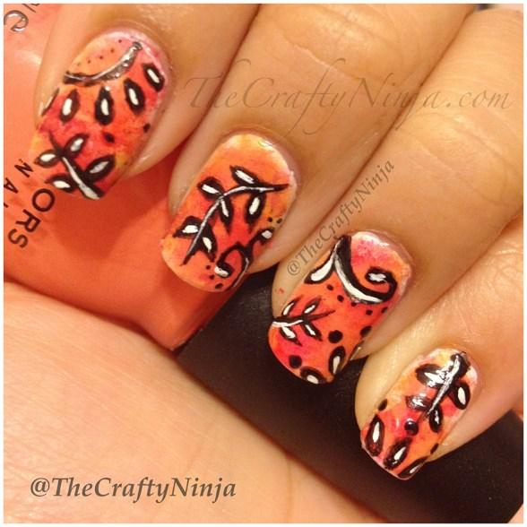 diy fall nails