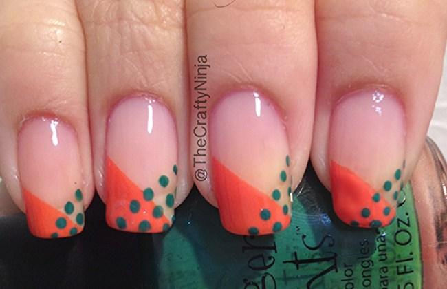 dot nail tips
