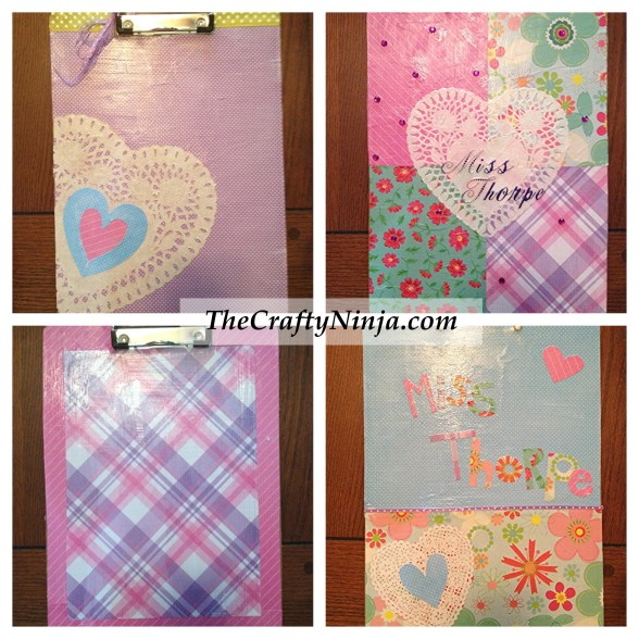 scrapbook clipboard