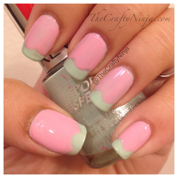 pastel ice cream nails