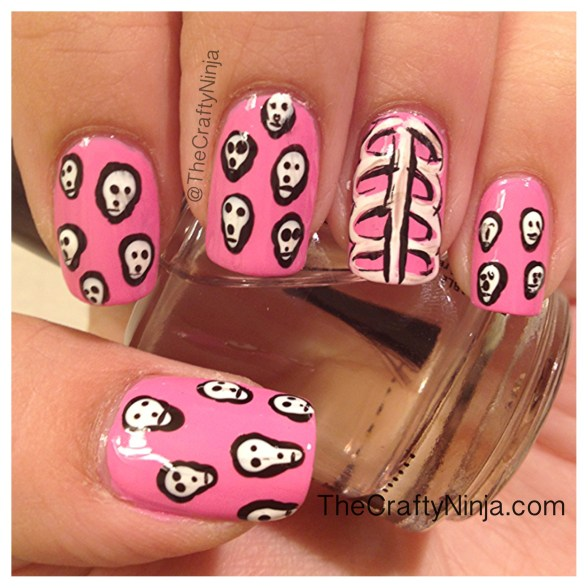 skeleton nails