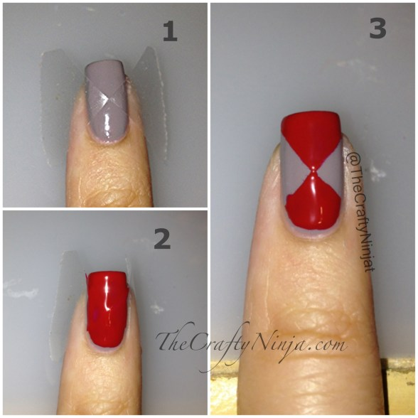 triangle nail tape