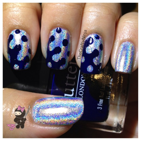 interlocking dots holo