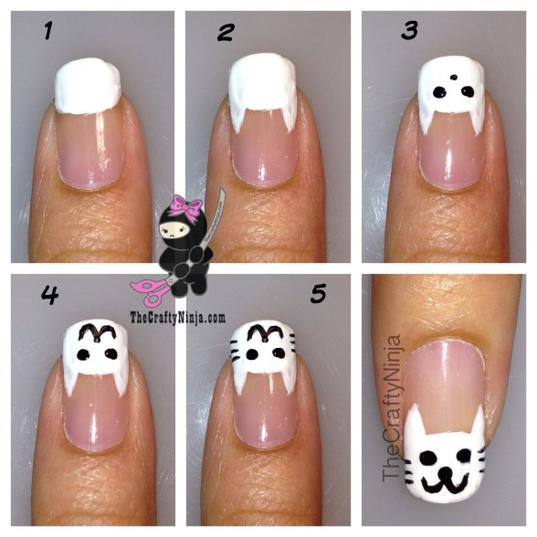 diy cat nails